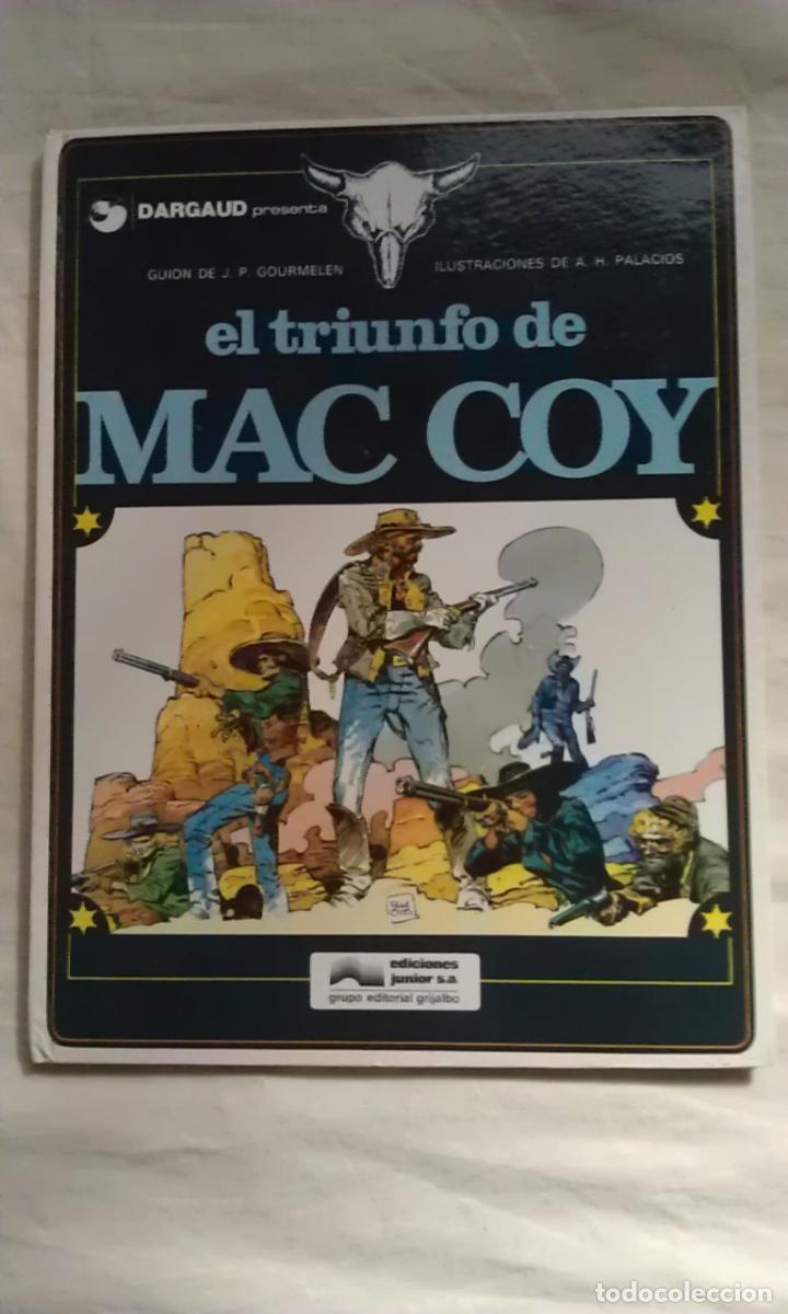 Cómics: MAC COY - LOTE 10 PRIMEROS NUMEROS - Foto 5 - 109480500