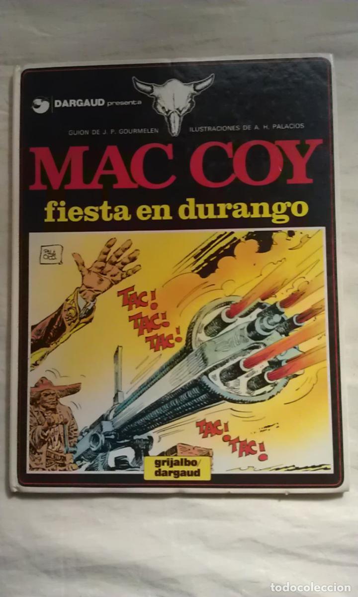 Cómics: MAC COY - LOTE 10 PRIMEROS NUMEROS - Foto 10 - 109480500