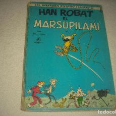 Cómics: LES AVENTURES D'ESPIRU I FANTASTIC N° 6 . HAN ROBAT EL MARSUPILAMI .1 EDICIÒ 1968. Lote 93287245