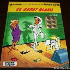 Cómics: LUCKY LUKE - EL GENET BLANC - MORRIS/GOSCINNY - GRIJALBO/DARGAUD - 1991 - EN CATALÁN. Lote 93294085
