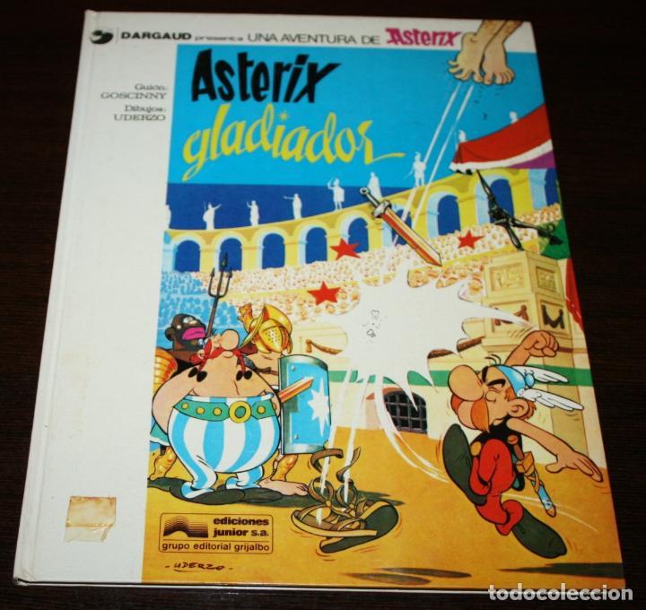 ASTERIX GLADIADOR - UDERZO/GOSCINNY - ED.JUNIOR/GRIJALBO - 1979 (Tebeos y Comics - Grijalbo - Asterix)
