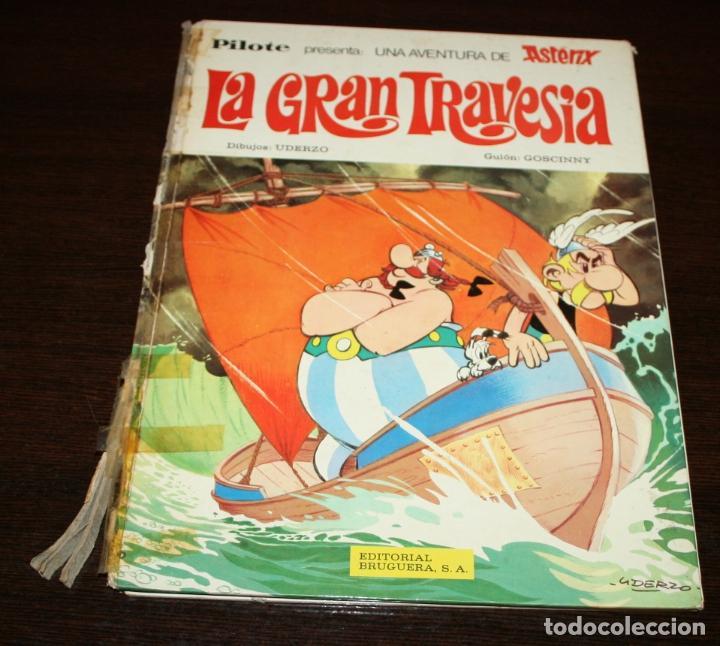 ASTERIX - LA GRAN TRAVESIA - UDERZO/GOSCINNY - ED.BRUGUERA - 1975 (Tebeos y Comics - Grijalbo - Asterix)