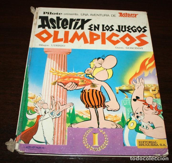 ASTERIX EN LOS JUEGOS OLÍMPICOS - UDERZO/GOSCINNY - ED.BRUGUERA - 1968 (Tebeos y Comics - Grijalbo - Asterix)