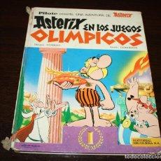 Cómics: ASTERIX EN LOS JUEGOS OLÍMPICOS - UDERZO/GOSCINNY - ED.BRUGUERA - 1968. Lote 93298415