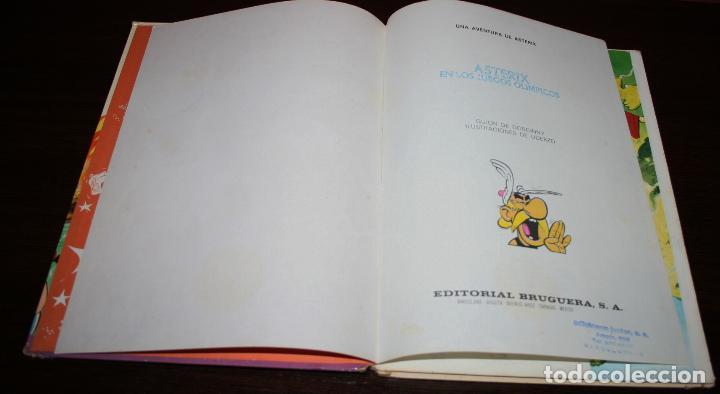 Cómics: ASTERIX EN LOS JUEGOS OLÍMPICOS - UDERZO/GOSCINNY - ED.BRUGUERA - 1968 - Foto 7 - 93298415