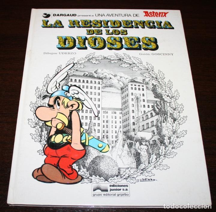 ASTERIX - LA RESIDENCIA DE LOS DIOSES - UDERZO/GOSCINNY - ED.JUNIOR/GRIJALBO - 1979 (Tebeos y Comics - Grijalbo - Asterix)