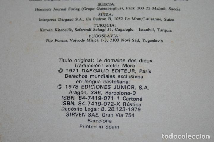 Cómics: ASTERIX - LA RESIDENCIA DE LOS DIOSES - UDERZO/GOSCINNY - ED.JUNIOR/GRIJALBO - 1979 - Foto 6 - 93299175