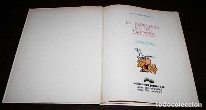 Cómics: ASTERIX - LA RESIDENCIA DE LOS DIOSES - UDERZO/GOSCINNY - ED.JUNIOR/GRIJALBO - 1979 - Foto 7 - 93299175