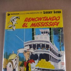 Comics : LUCKY LUKE Nº9 REMONTANDO EL MISSISSIPI GRIJALBO/DARGAUD TAPA DURA. Lote 93336455