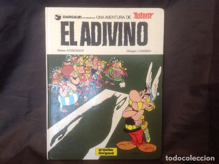 EL ADIVINO GRIJALBO/DARGAUD 1986 (Tebeos y Comics - Grijalbo - Asterix)