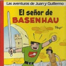 Comics: LAS AVENTURAS DE JUAN Y GUILLERMO: EL SEÑOR DE BASENHAU, 1986, JUNIOR, PRIMERA EDICIÓN MUY BUEN ESTA. Lote 93707730