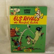 Cómics: LUCKY LUKE - ELS RIVALS DE PAINFUL GULCH - MORRIS / GOSCINNY - GRIJALBO /DARGAUD - 1987 - EN CATALÁ. Lote 93741480