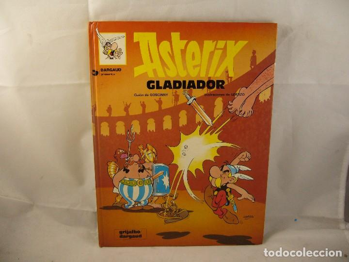 ASTERIX - GLADIADOR (Tebeos y Comics - Grijalbo - Asterix)