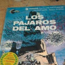 Cómics: LOS PÁJAROS DEL AMO. J. C. MEZIERES Y P. CHRISTIN. UNA AVENTURA DE VALERIAN AGENTE ESPACIO TEMPORAL. Lote 93752630