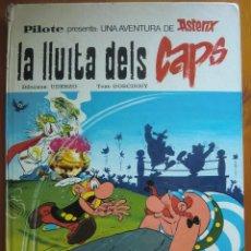 Cómics: TEBEO CÓMIC ASTERIX Y OBELIX: LA LLUITA DELS CAPS (1976) DE UDERZO Y GOSCINNY. EN VALENCIANO. Lote 93886400
