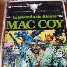 Cómics: LA LEYENDA DE ALEXIS MAC COY. EDIC 1978. EDICIONES JUNIOR. Lote 93945595