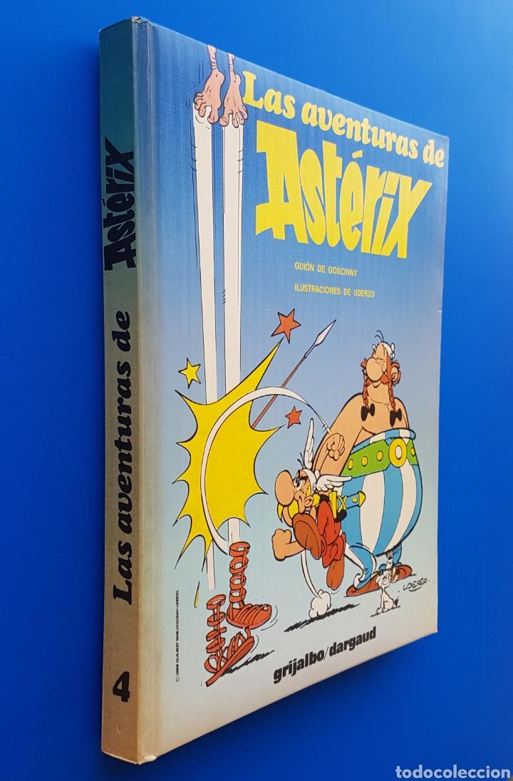 LAS AVENTURAS DE ASTERIX - TOMO Nº 4 - GRIJALBO/DARGAUD - GUAFLEX - 1987 (CONTIENE 4 AVENTURAS) (Tebeos y Comics - Grijalbo - Asterix)
