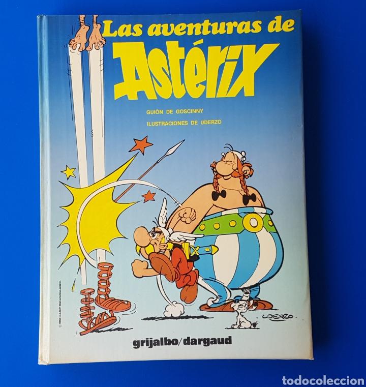 Cómics: LAS AVENTURAS DE ASTERIX - TOMO Nº 4 - GRIJALBO/DARGAUD - GUAFLEX - 1987 (CONTIENE 4 AVENTURAS) - Foto 2 - 94375802