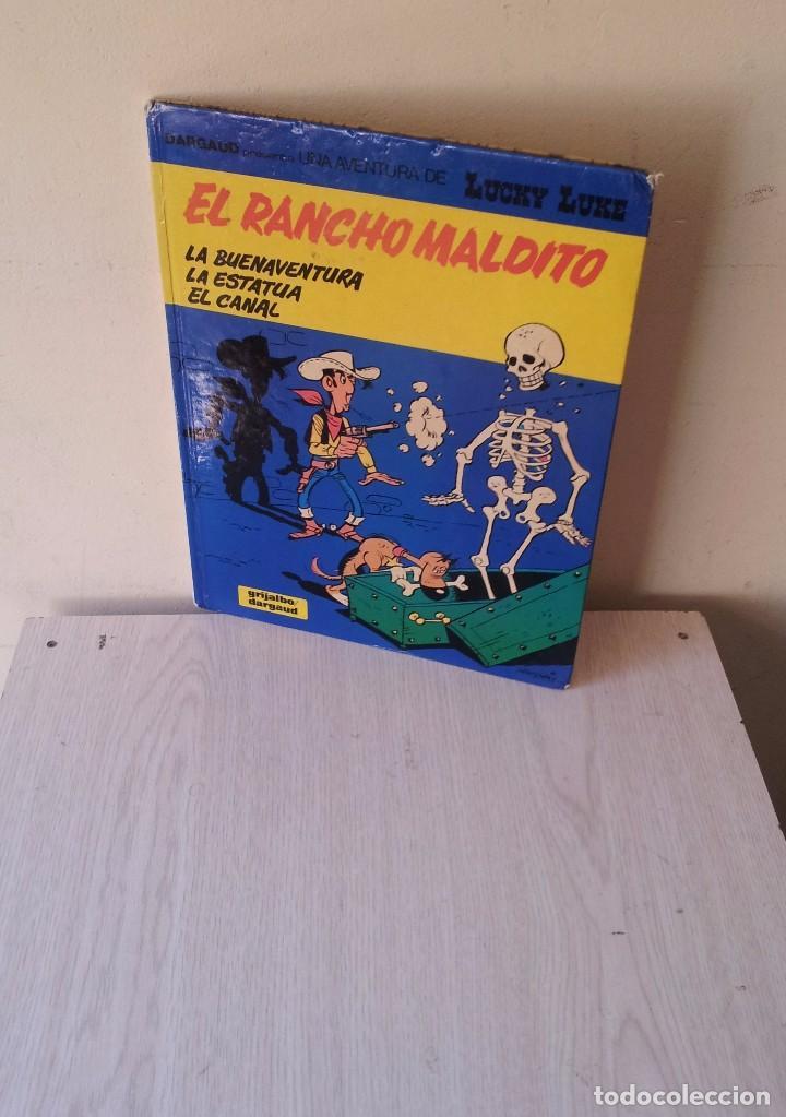 LUCKY LUKE - EL RANCHO MALDITO - Nº 47 - GRIJALBO 1992 (Tebeos y Comics - Grijalbo - Lucky Luke)
