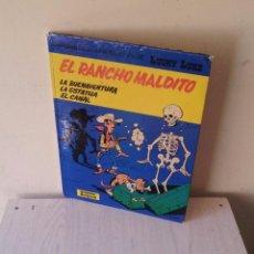 Cómics: LUCKY LUKE - EL RANCHO MALDITO - Nº 47 - GRIJALBO 1992. Lote 94391026