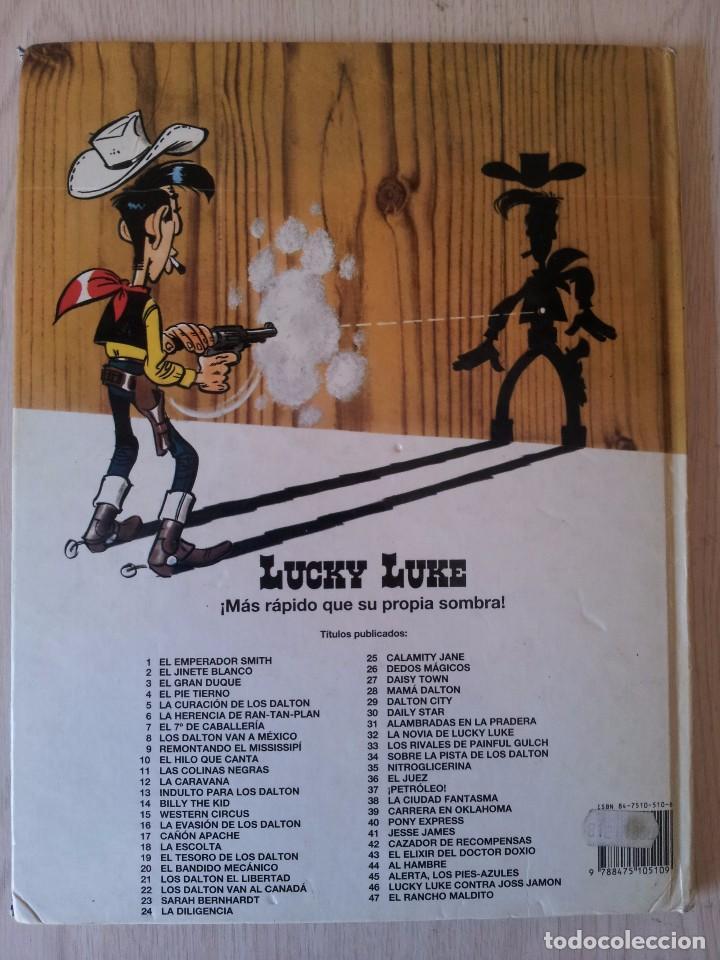 Cómics: LUCKY LUKE - EL RANCHO MALDITO - Nº 47 - GRIJALBO 1992 - Foto 2 - 94391026