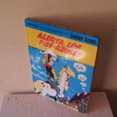 Cómics: LUCKY LUKE - ALERTA, LOS PIES AZULES - Nº 45 - GRIJALBO 1991. Lote 94391186