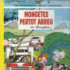 Comics: LES AVENTURES D´ESPIRÚ I FANTÂSTIC 41: MONGETES PERTOT ARREU, 1995, IMPECABLE.. Lote 187152555