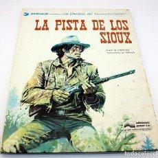 Cómics: LA PISTA DE LOS SIOUX - UNA AVENTURA DEL TENIENTE BLUEBERRY - PRIMERA EDICIÓN - GRIJALBO DARGAUD. Lote 94529030