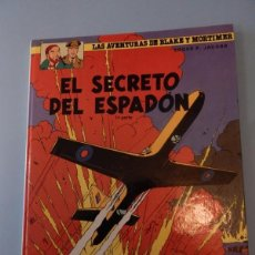 Cómics: LAS AVENTURAS DE BLAKE Y MORTIMER N. 9 - EL SECRETO DEL ESPADON 1º PARTE. Lote 94552195