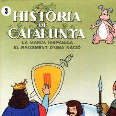 Cómics: HISTÒRIA DE CATALUNYA 3. Lote 94576483