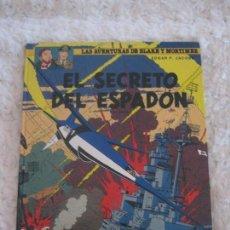 Cómics: LAS AVENTURAS DE BLAKE Y MORTIMER - EL SECRETO DEL ESPADON N. 11 - 3 PARTE. Lote 94584443