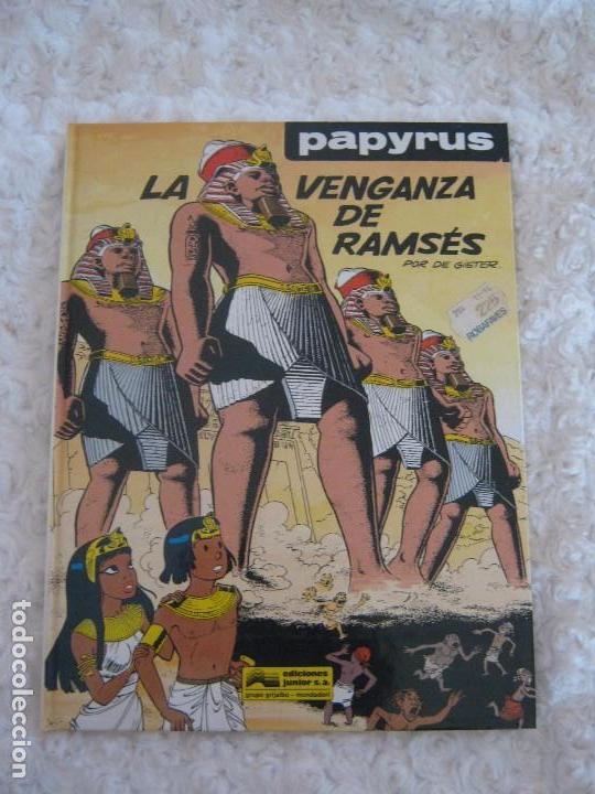 PAPYRUS - LA VENGANZA DE RAMSES N. 7 (Tebeos y Comics - Grijalbo - Papyrus)