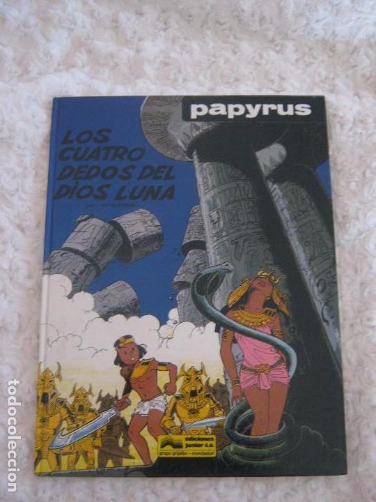 PAPYRUS - LOS CUATRO DEDOS DEL DIOS LUNA N. 6 (Tebeos y Comics - Grijalbo - Papyrus)