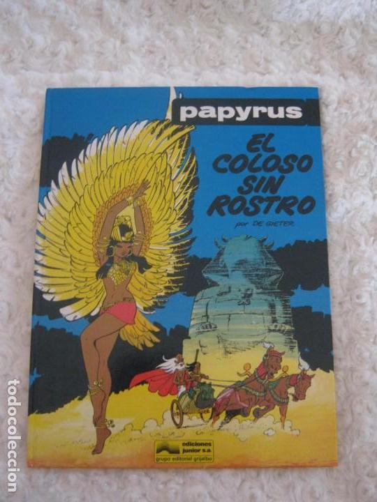 PAPYRUS - EL COLOSO SIN ROSTRO N. 3 (Tebeos y Comics - Grijalbo - Papyrus)