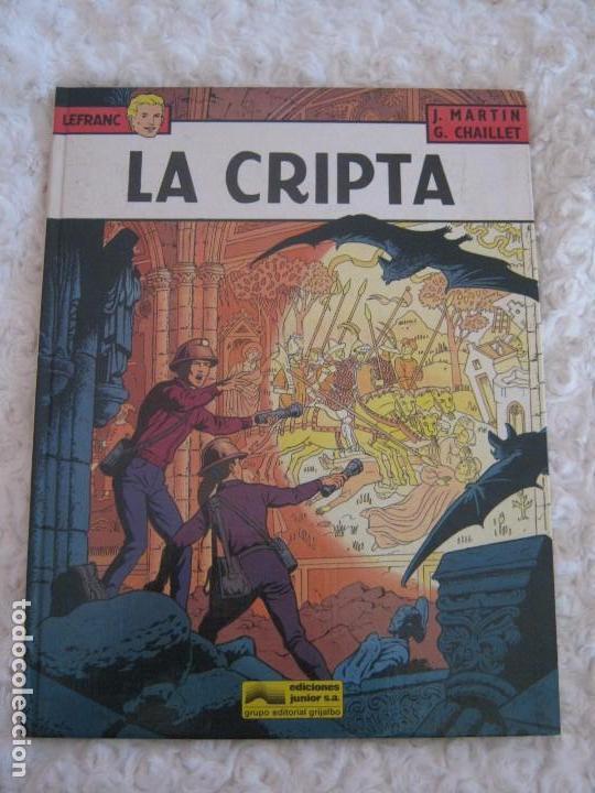 LEFRANC - LA CRIPTA N. 9 (Tebeos y Comics - Grijalbo - Lefranc)