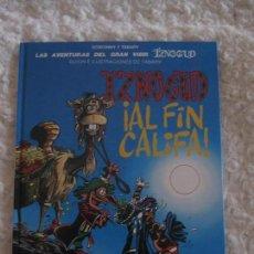 Cómics: LAS AVENTURAS DEL GRAN VISIR IZNOGUD - IZNOGUD AL FIN CALIFA N. 18. Lote 94705123