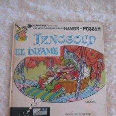 Cómics: LAS AVENTURAS DEL CALIFA HARUN EL PUSSAH - IZNOGUD EL INFAME N. 7. Lote 155341037