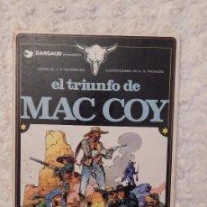Cómics: MAC COY - EL TRIUNFO DE MAC COY N. 4. Lote 94721531