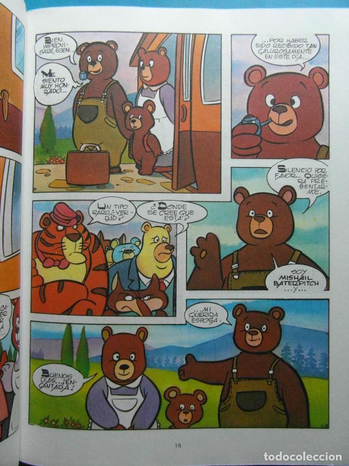 Cómics: El osito Misha. Misha llega a la aldea. Ediciones Junior Grijalbo 1980.Caja de Ahorros de Tarragona - Foto 2 - 210177550