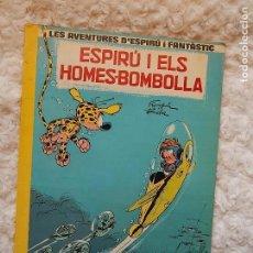 Cómics: LES AVENTURES D´ESPIRU I FANTASTIC- ESPIRU I ELS HOMES - BOMBOLLA N. 13 - CATALA. Lote 94987199