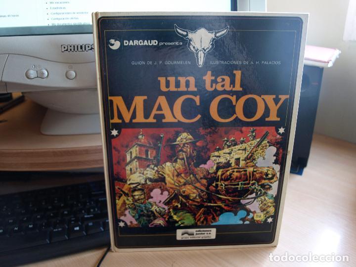 UN TAL MAC COY - NÚMERO 2 - TAPA DURA - AÑO 1978 - EDICIONES JUNIOR (Tebeos y Comics - Grijalbo - Otros)