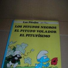 Cómics: LOS PITUFOS NEGROS - EL PITUFO VOLADOR - EL PITUFÍSIMO. AÑO 1983. EDITORIAL JUNIOR - GRIJALBO.. Lote 95019383