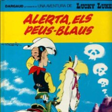Cómics: LUCKY LUKE Nº 45 - ALERTA ELS PEUS-BLAUS - GRIJALBO DARGAUD 1991 1ª EDICIO - CATALA - BEN CONSERVAT. Lote 95295271