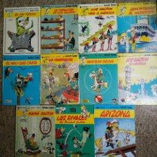 Cómics: LUCKY LUKE, LOTE DE 11 NUMEROS - GOSCINNY, MORRIS... (GRIJALBO 1977) + 9 DE REGALO. Lote 95302807