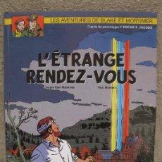 Cómics: L'ÉTRANGE RENDEZ-VOUS - BLAKE & MORTIMER Nº 15 - JEAN VAN HAMME - TED BENOIT - EN FRANCÉS - AÑO 2001. Lote 95335507