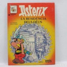 Cómics: COMIC - ASTERIX - LA RESIDENCIA DELS DEUS. Lote 95344939