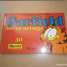 Cómics: GARFIELD - 30 - NO SE ARRUGA - EDICIONES JUNIOR - GRIJALBO MONDADORI. Lote 95445523
