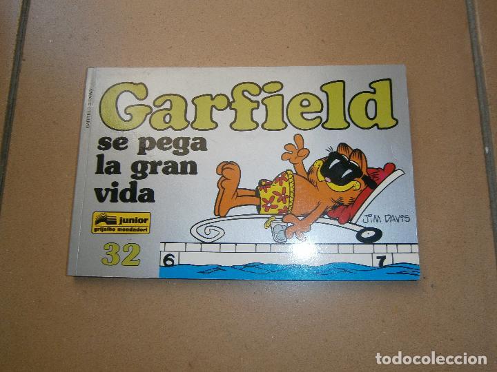 GARFIELD - 32 - SE PEGA LA GRAN VIDA - EDICIONES JUNIOR - GRIJALBO MONDADORI (Tebeos y Comics - Grijalbo - Otros)