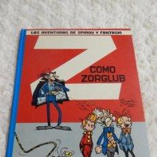 Cómics: LAS AVENTURAS DE SPIROU Y FANTASIO - Z COMO ZORGLUB -N. 17. Lote 95519903
