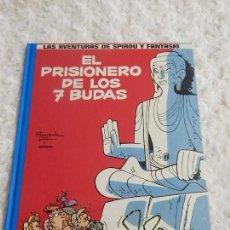 Cómics: LAS AVENTURAS DE SPIROU Y FANTASIO - EL PRISIONERO DE LOS 7 BUDAS -N. 12. Lote 95520363
